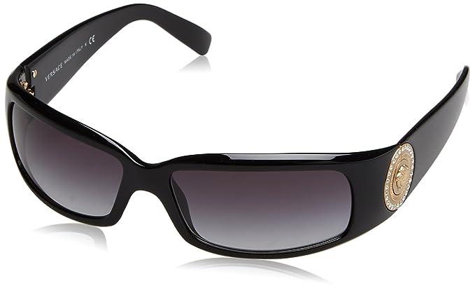 Versace VE 4044B Gafas de Sol, Black/Grey Gradient, 60 para ...