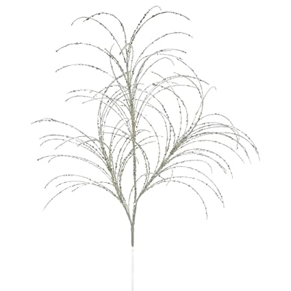 Amazon Com Vickerman Qg164028 Glitter Grass Spray X 3 With Paper