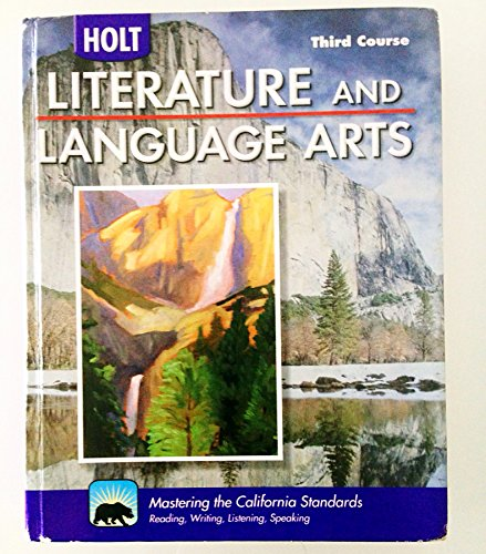 Arts Literature: Buy Special Books : Holt Literature And Language Arts