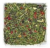 Gourmet Food : Tealyra - Emerald Splendor - Veggie Green Loose Leaf Tea - Spinach - Mango - Lemongrass - Wellness Blend - 112g (4-ounce)