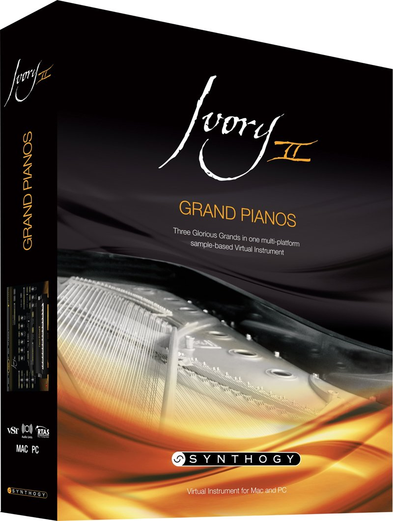 Synthogy Ivory II Grand Pianos, Boxed by Synthogy