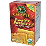 Nature's Path, Organic Toaster Pastries, Strawberry, 6 Tarts, 52 g Each - 2PC