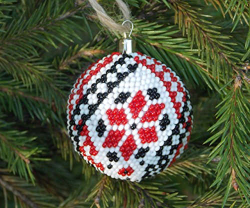 HANDMADE Christmas gift Ukrainian decor embroidery ornaments amazing ethnic ()