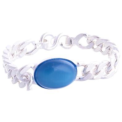 Pdj Sterling Silver Bracelet For Men 55g Pdj Amazon In Jewellery