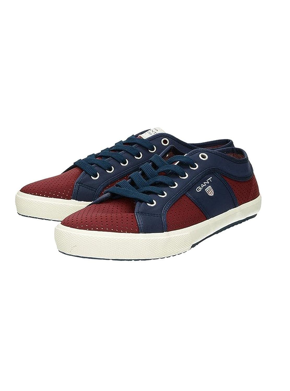 41c048c38f Gant Men's Samuel Trainers, Mehrfarbig (Scarlett Red/Marine), 10.5 UK 10.5  UK: Amazon.co.uk: Shoes & Bags