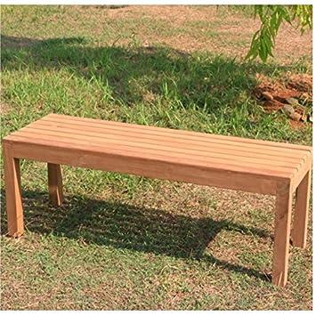 banco de jardn teca cm madera park banco madera banco m tornillos de acero