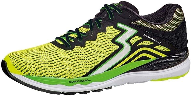 361 - Zapatillas de Running para Hombre, Color Negro, Talla 14: Amazon.es: Zapatos y complementos