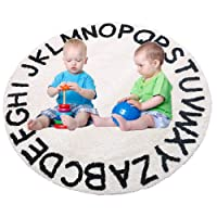 ABC Kids Rug Alphabet Educational Area Rugs for Infant Toddlers - Soft Playtime...