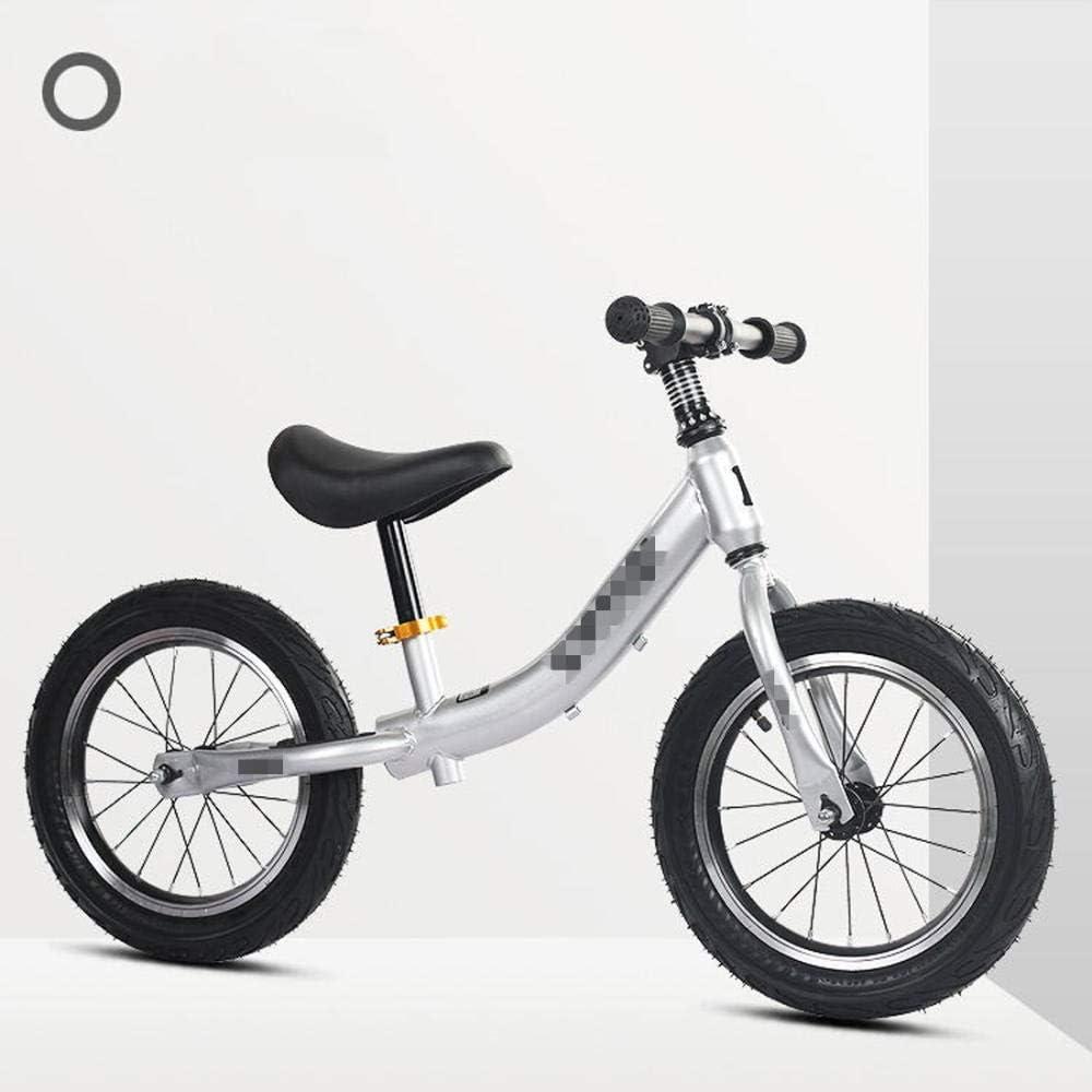 YSCYLY Bici Sin Pedales,Coche de Carreras Deslizante para bebés de 14 Pulgadas y 3-6 años,Bicicleta Sin Pedales Tech Balance Impact Air Wheel