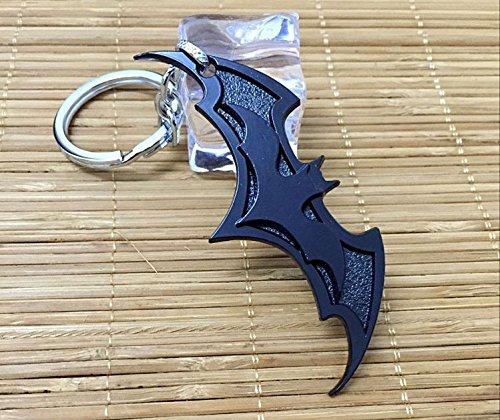 Black Color Superman Batman War Key Chain Batmantoys Llavero Movie Key Ring Kids Toys