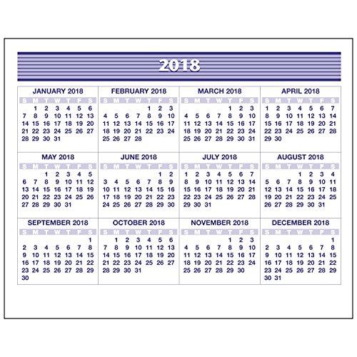 "Weekly Refill, January 2018 - December 2018, 5-5/8"" x 7"", Flip-A-Week (SW705X50) Photo #6"