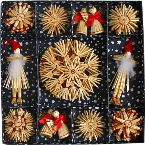 (Straw Ornament Boxed Collection)
