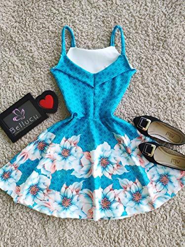 Vestido Boneca Rodado Princesa Estampas Exclusivas Moda Roupas Femininas