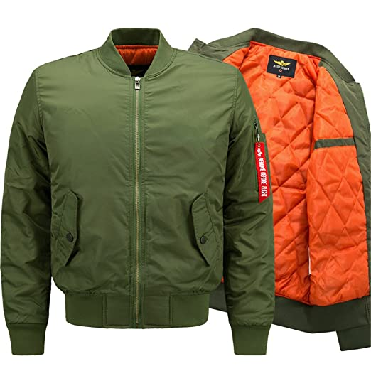 Winter Bomber Army Military Coats Plus Size 6XL Jacket Chaqueta Hombre Veste Army Green M