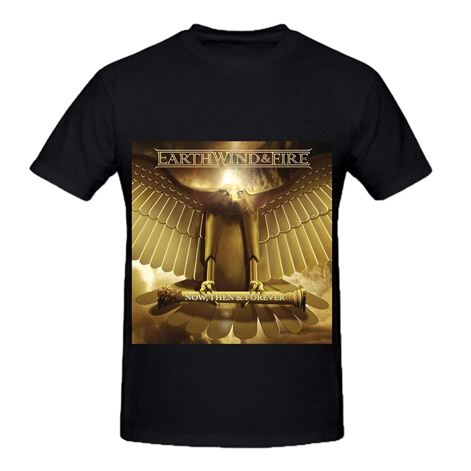 Earth, Wind Now, Then & Forever Men O Neck Custom Tee