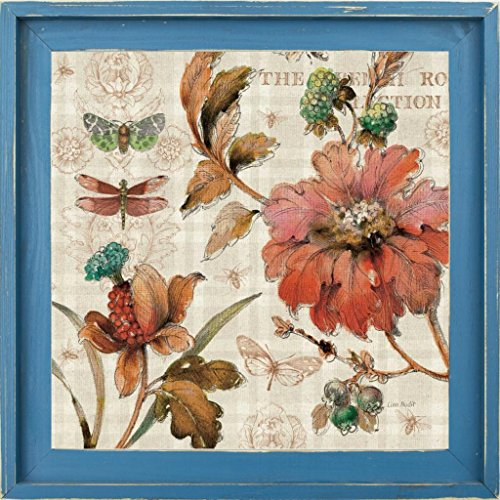 16x16 French Country V by Audit, Lisa: Farmhouse Distressed Lagoon 15839
