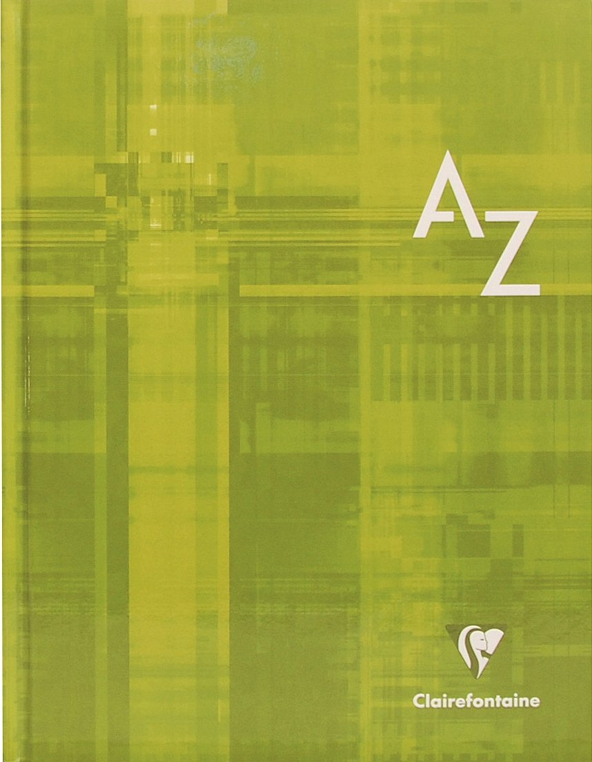 Clairefontaine 9509C registerkladde couverture rigide-carreaux - 11 x 17 cm 96 pages Exaclair GmbH LIB3329680950908