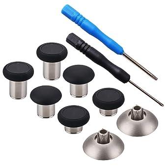YoRHa 8 in 1 Metal Magnetic Thumbsticks Analog Sticks Joysticks