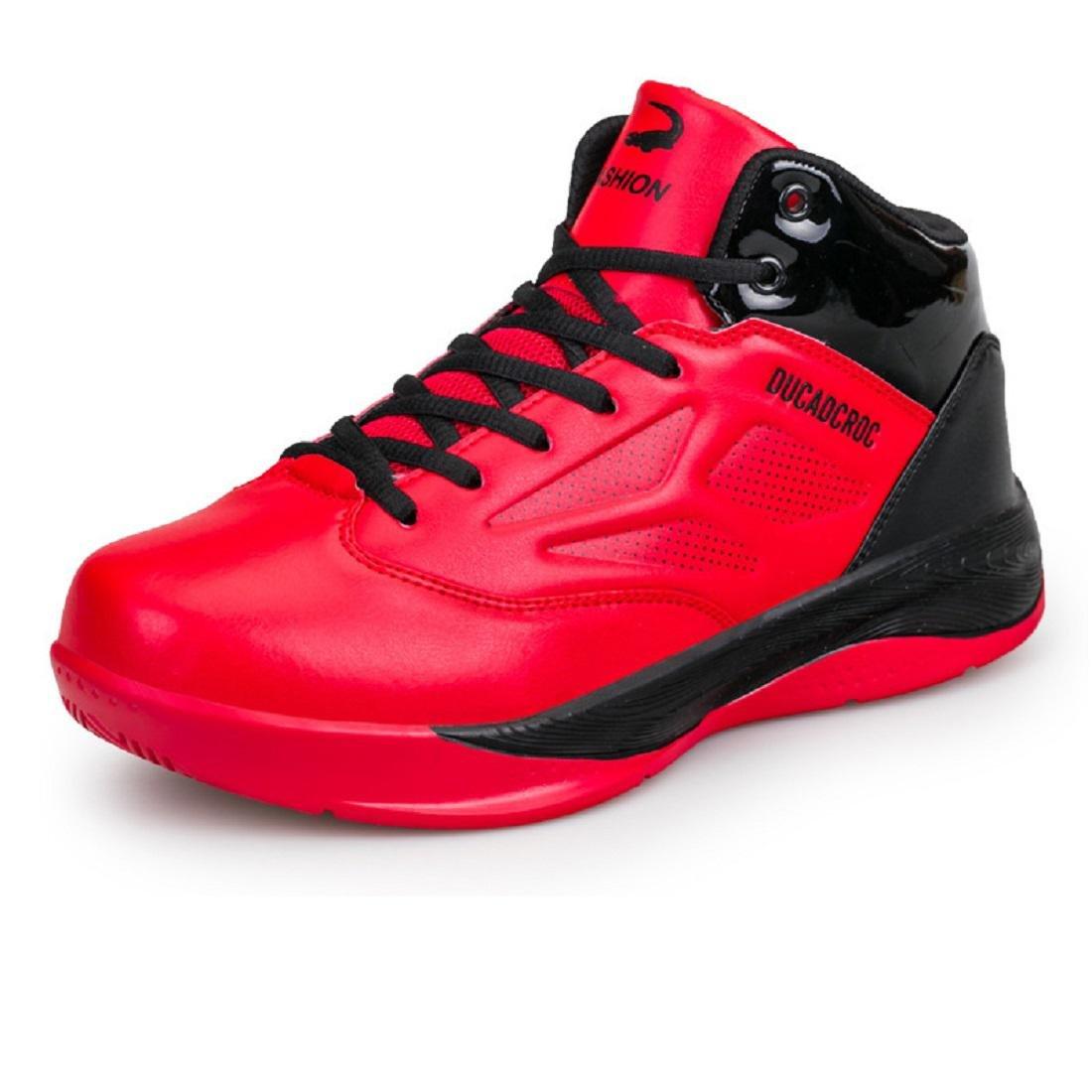 Herren Mode Sportschuhe Laufschuhe Basketball Schuhe Trainer Fussballschuhe Rutschfest Atmungsaktiv Erhöht Draussen EUR GRÖSSE 38-46