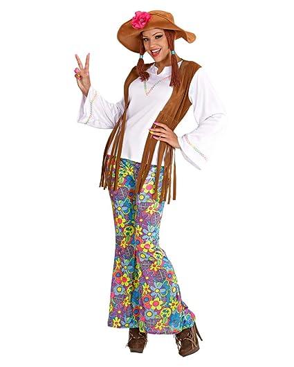 Las mujeres traje Hippie con coletas Gr. S: Amazon.es ...