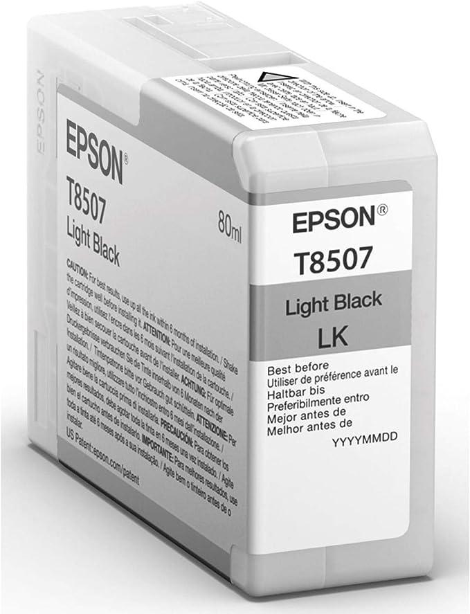 Epson C13t850700 Singlepack Leiß Schwarz Bürobedarf Schreibwaren