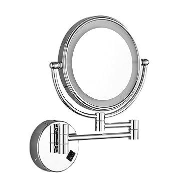 Led Kosmetikspiegel Mit Licht Badezimmer Badezimmer Spiegel Falten