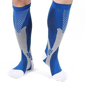Champion Calcetines Compresión Deporte - aumentan el rendimiento, la circulación y recuperación - Para Correr