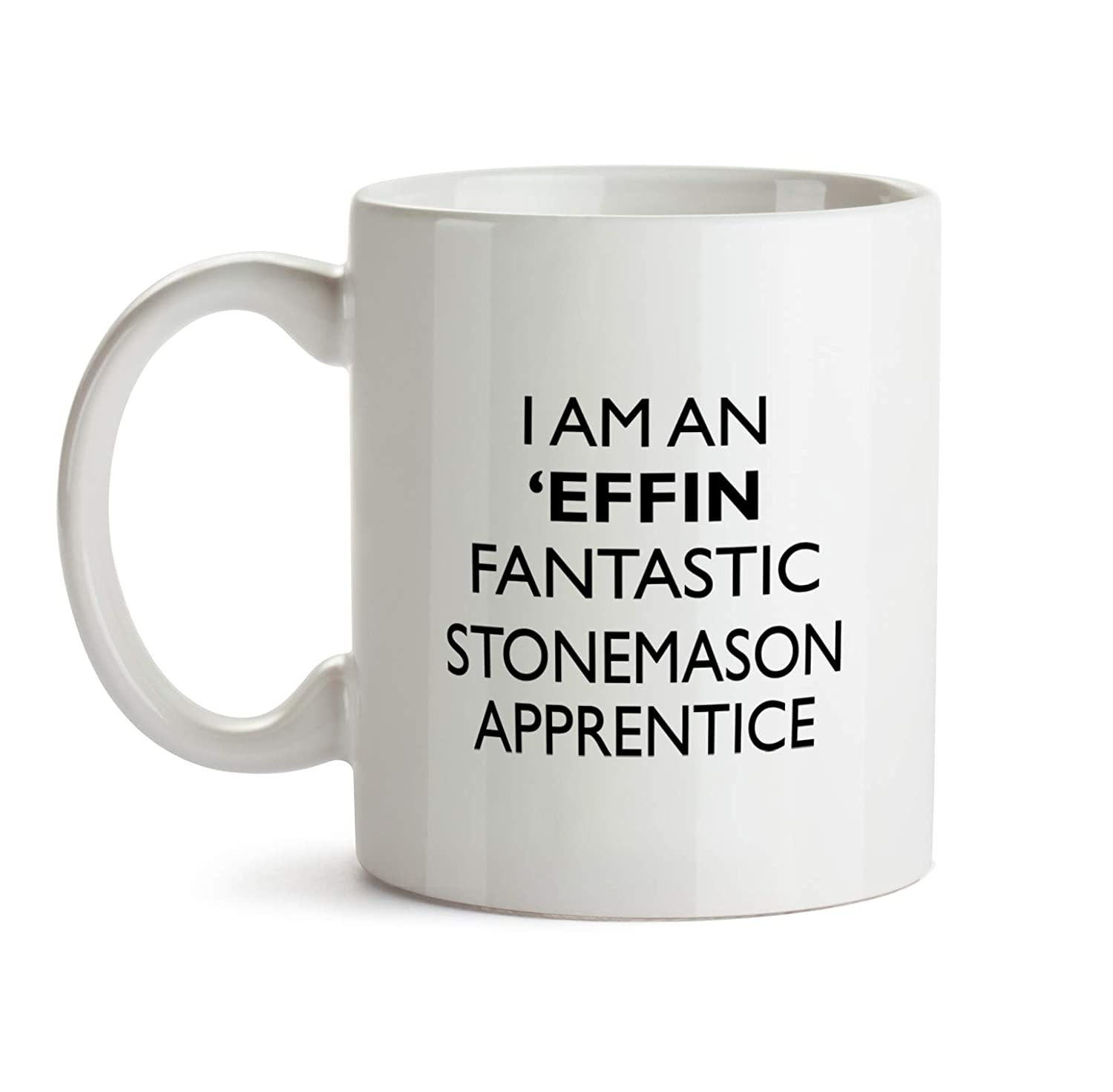 Amazon com: Stonemason Apprentice Gift Mug - Effin