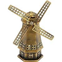 SUPVOX Vintage holandés molino de viento estatua muebles