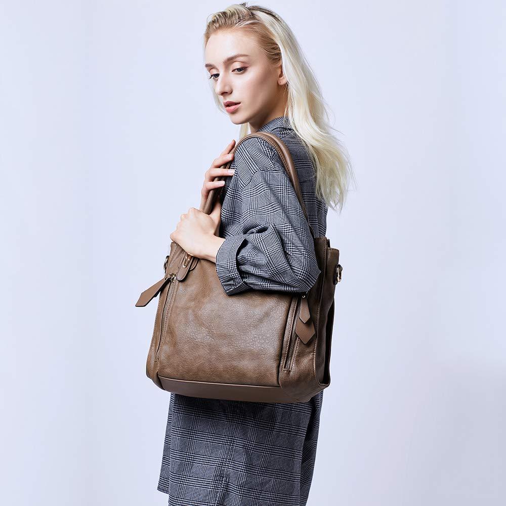 Handbags-for-Women-Shoulder-Tote-Zipper-Purse-PU-Leather-Top-handle-Satchel-Bags-Ladies-Medium-UncleY