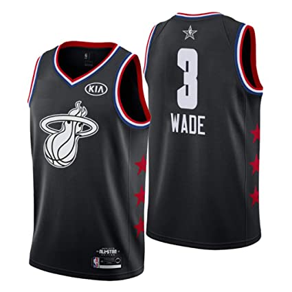 0484462c0f2 Jordan Men s 2019 NBA All-Star Game Miami Heat  3 Dwyane Wade Swingman  Jersey