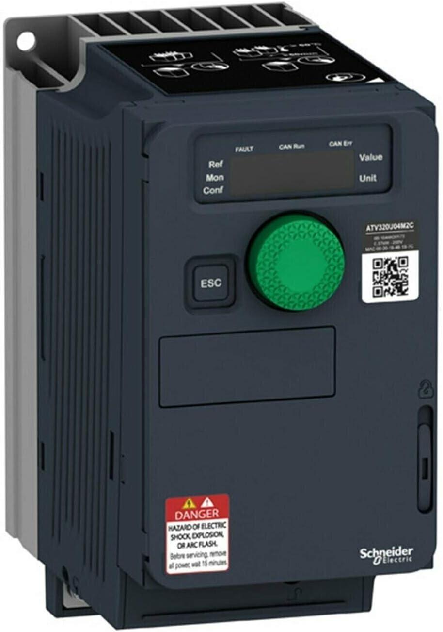 Schneider Elec Pia/ /VVD 42/01/ /Variatore atv320/C 0,75/kw 230/V monofasico Compatto