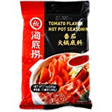 Haidilao Hot Pot Spicy Sauce-海底捞番茄火锅底料 (Tomato Flavor Hot Pot Seasoning, 7.1 Oz)