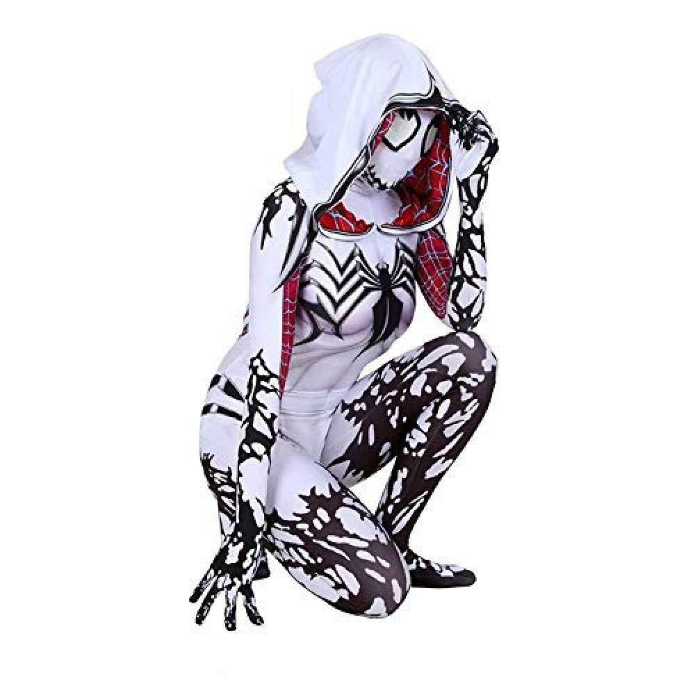 Venta en línea de descuento de fábrica Ms XX-Large ASJUNQ Impresión Digital 3D Sudadera Sudadera Sudadera con Capucha Spiderman Medias Siamesas Disfraces Disfraces De Halloween CosJugar Accesorios,Ms-XXL  tienda en linea
