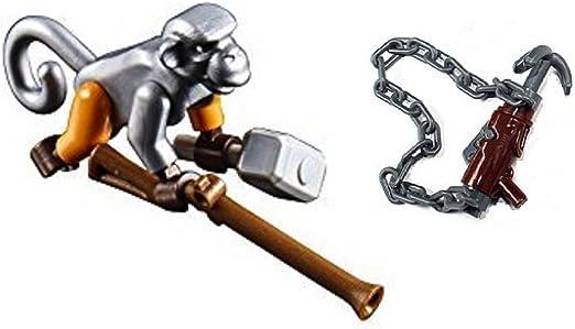 Amazon.com: LEGO Ninjago Monkey Wretch with Grappling Hook ...