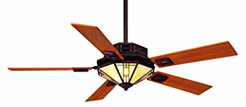 Casablanca 97032t mission ceiling fan with inteli touch control casablanca 97032t mission ceiling fan with inteli touch control weathered copper mozeypictures Images