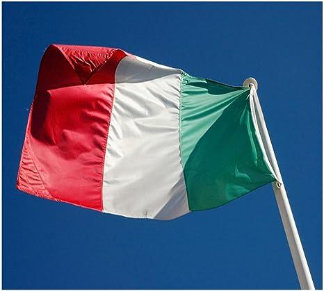 Hemore Bandera de Italia,Bandera Grande 150×90cm(Impermeable y no se Descolora