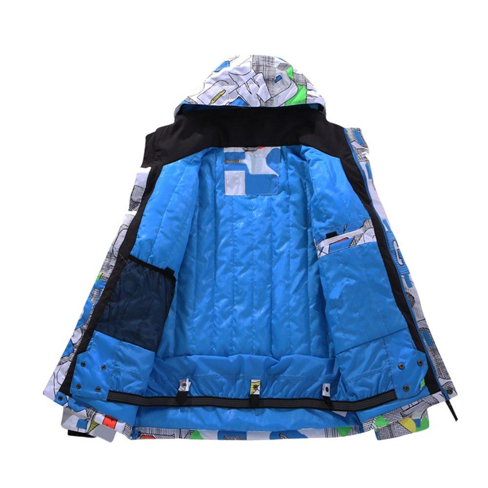 Hzjundasi Hombres Invierno Exterior Sudaderas Traje de esquí Impermeable Snowboard Chaquetas de Viaje Capa de Acampada Ejercicio: Amazon.es: Deportes y aire ...