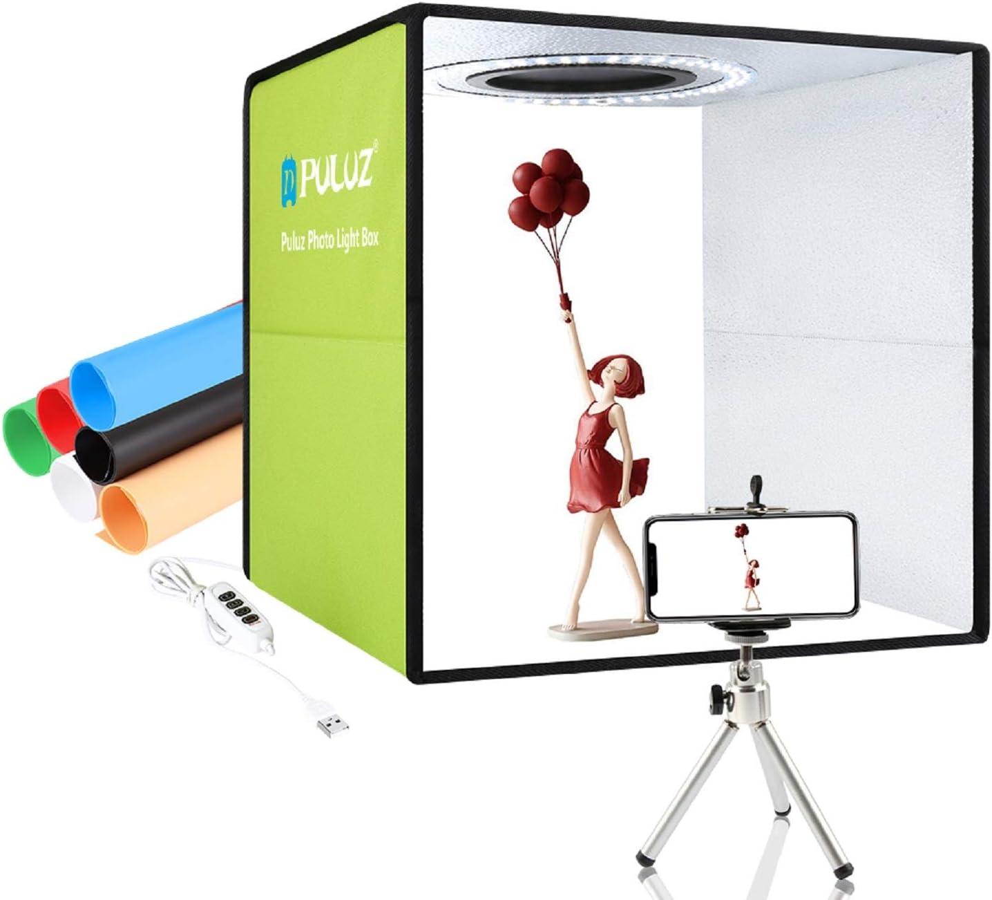 Puluz Lichtbox Für Fotografie 30 Cm Tragbares Kamera