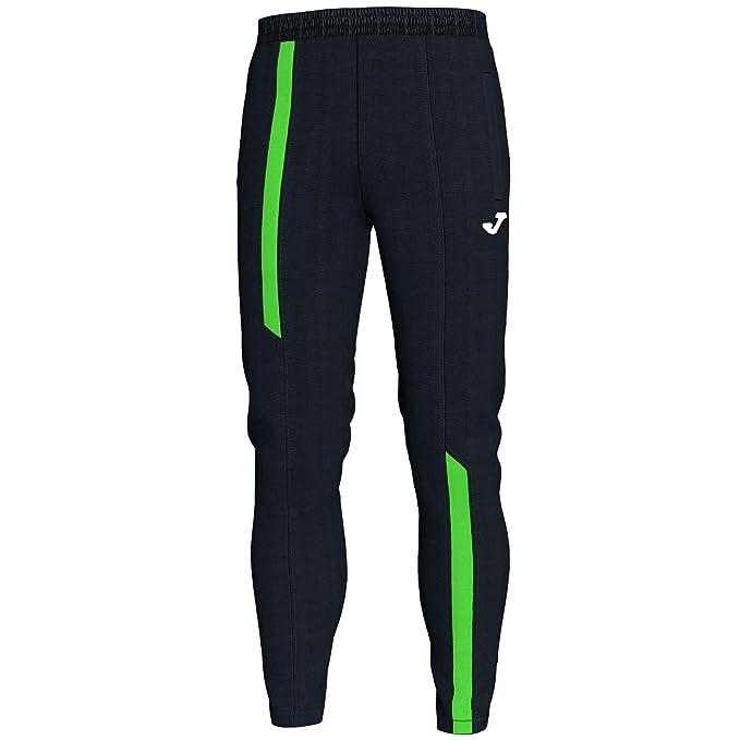 Pantalon de chandal Joma con tiras verdes neón