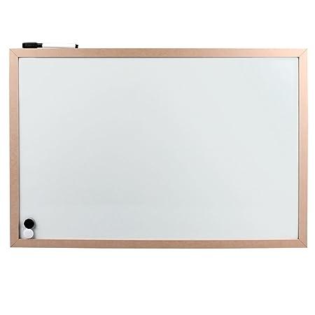 ec1d0f551b09c Magnetic Board with Wooden Frame 60 x 40 CM Magnet Organiser Board ...