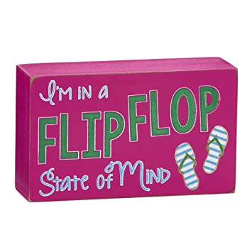 ce2b2b44e0da Amazon.com  Creative Gifts International CGI I M In A Flip Flop ...