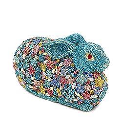 Luxury Bling Diamond 3D Rabbit Rhinestone Clutches
