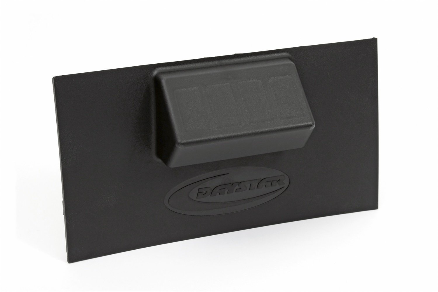 Daystar, Jeep JK Wrangler Lower switch panel that will accommodate 1 to 4 rocker style switches, fits 2007 to 2010 2/4WD, KJ71030, Made in America, Black