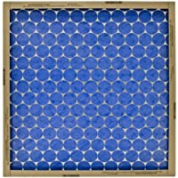 Flanders PrecisionAire 10255.012024 20 by 24 by 1 Flat Panel Heavy Duty Spun Glass Air Filter, 12-Pack by Flanders