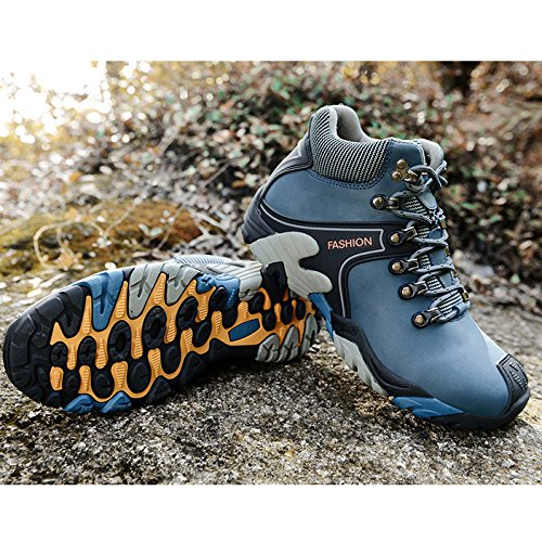 Imperméable Bottes Hommes Trekking Randonnée Blue Marche Course High Femmes Outdoor Pour Rise De Chaussures Respirant Sneakers qAv4xnxX