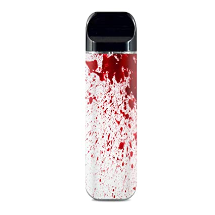 IT'S A SKIN Decal Vinyl Wrap for Smok Novo Pod System Vape Sticker Sleeve  Cover/Blood Splatter Dexter