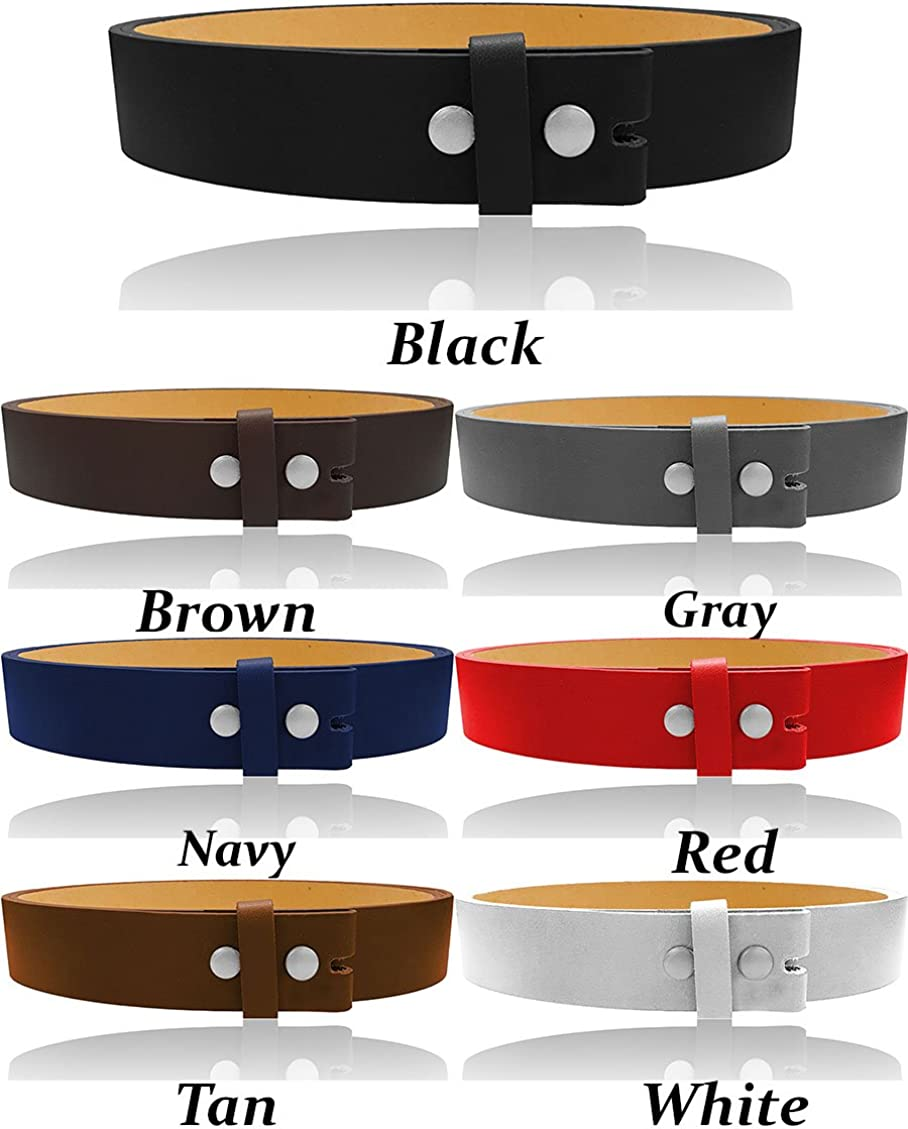 Up to 5X Luna Sosano Women and Mens 1.5 Wide Genuine//Bonded Mix Leather Belt