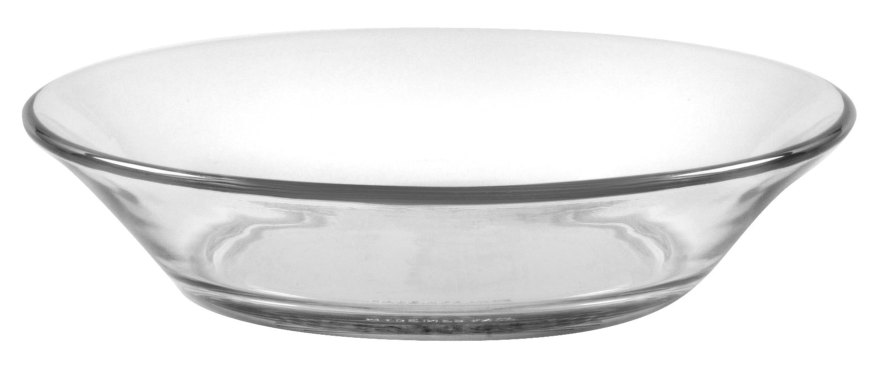 Duralex - Lys Clear Calotte Plate 17,5 cm (6 7/8 in) Set Of 6