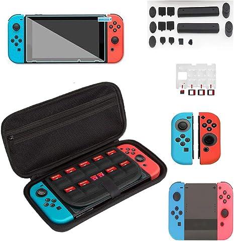 7 en 1 Kit de accesorios para Nintendo Switch, Incluye Nintendo ...